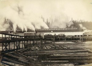 Port Blakely Lumber Mill, ca.  1891