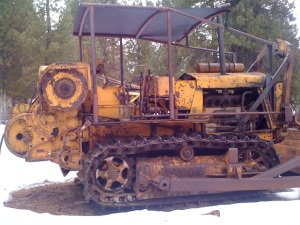 Old Logging Equipment